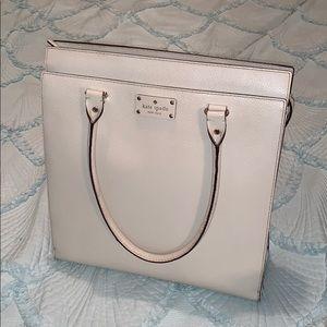 White Kate Spade bag